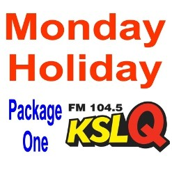 Monday Holiday Ad Package One
